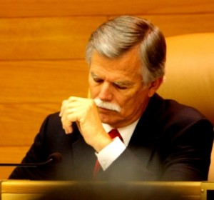 Cerritos Mayor Bruce Barrows.