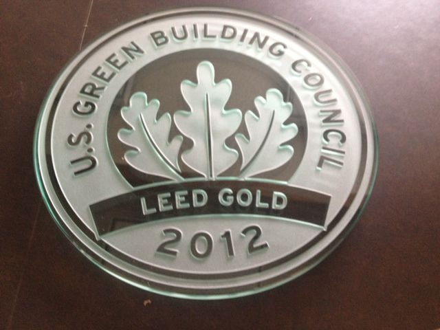 Fullerton Library Awarded Gold For Sustainability Design And