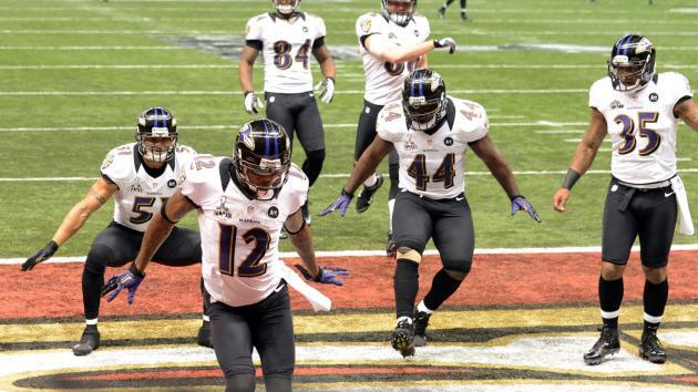 Baltimore Ravens capture Super Bowl win over 49ers on Sunday.