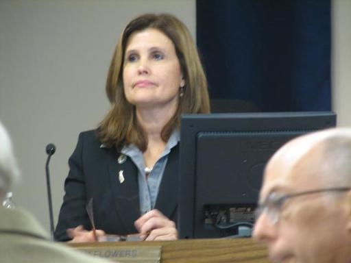 """Artesia Mayor Sally Flowers gives """"State of the City"""" Address."""