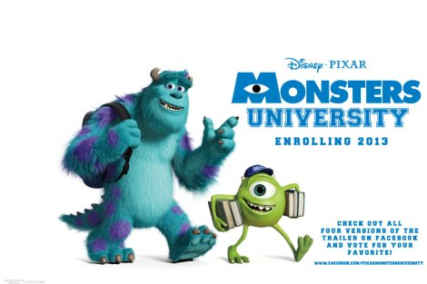 Monsters University is movie theaters NOW!