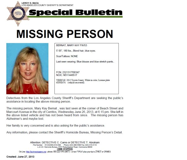 missing cerritos woman 2