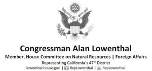 Rep. Alan Lowenthal refuses pay check during government shut down.