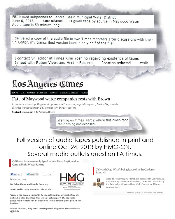 Los Angeles Times Withholds Evidence
