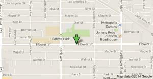 Location of murder in Bellflower.