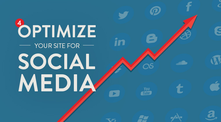 #4: Optimize Your Site For Social Media