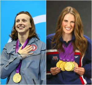 Katie Ledecky (left) and Missy Franklin (right). Katie Ledecky is a powerhouse. She holds three world records, won gold in the 800 freestyle at the 2012 Olympics, finished first in three races at the 2016 Olympic Trails AND is only 19 years old. She is favored to win gold in more than just one event and she is more than capable of it. Missy Franklin is also a well-known star in swimming. At 16 years old, Franklin won two gold medals in the 100 and 200 backstroke at the 2012 London games as well as secured two golds with her 800 freestyle and 400 medley relay teams. After the 2012 Olympics she continued to win golds at other big competitions and at the 2016 Olympics Trails she received a spot on the Olympic team once again. These two teenage stars are back, lets see if they will come out with gold once again.