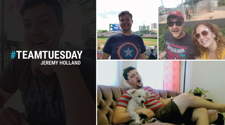 #TeamTuesday – Jeremy Holland
