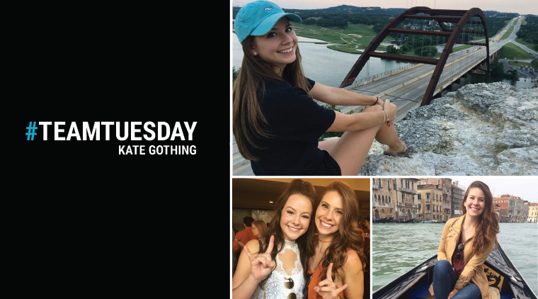 #TeamTuesday – Kate Gothing