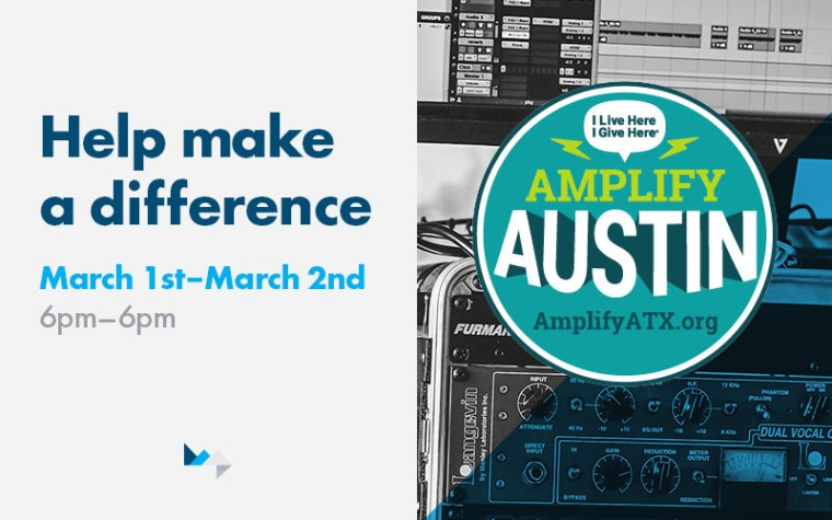 Amplify Austin Day – Help Raise $10m in 24 Hours