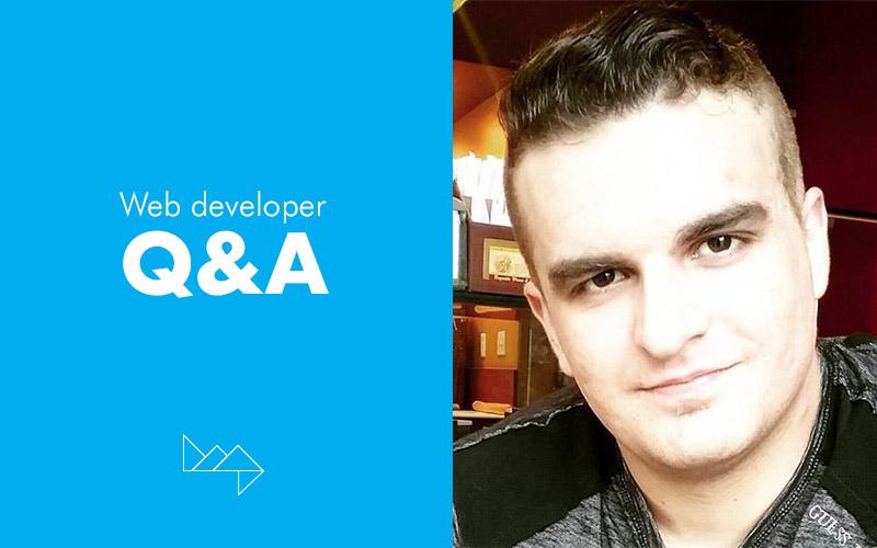Q&A with Brandon Zeek, Web Developer at HMG