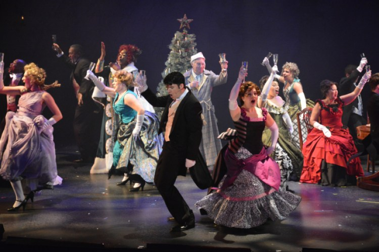 A Christmas Carol stage performance