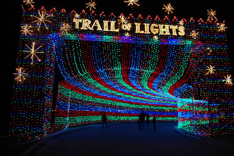 Austin Trail of Lights entrance