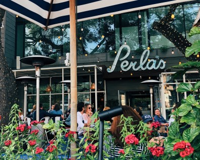Perla's Restaurant Outdoor Seating
