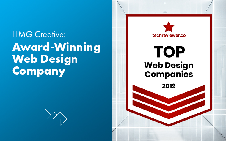 HMG Creative Recognized as a Top Web Design Company in 2019
