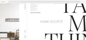 example of large text in web design