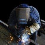 welder, worker, metal
