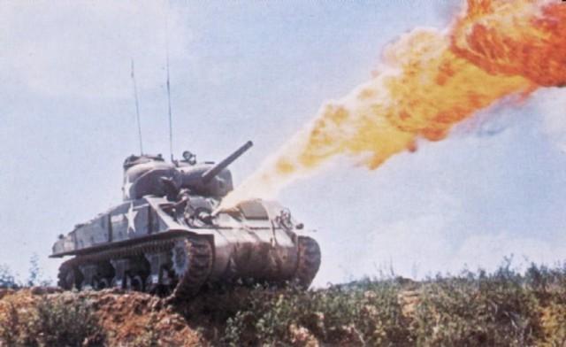 flame-thrower-tank