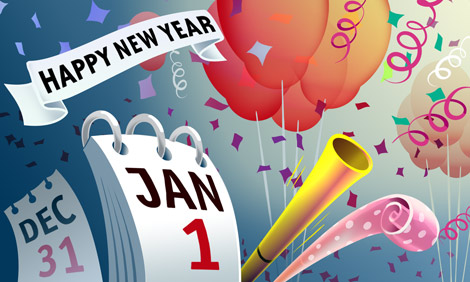 New Year's Day | HMH In The News