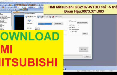 Download HMI Mitsubishi GS2107-WTBD