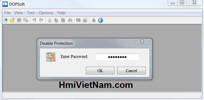 Crack Password HMI Delta DOP-B