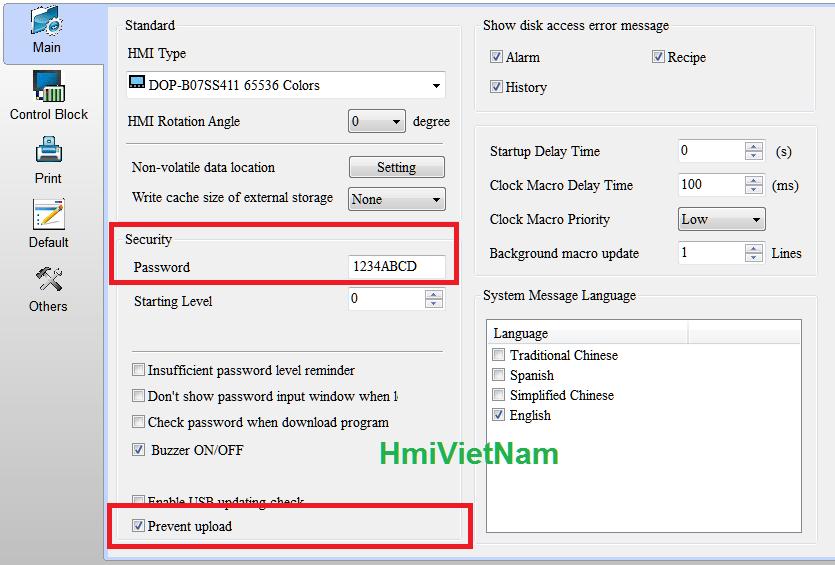 Crack Password HMI Delta