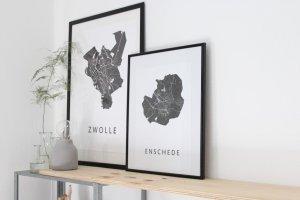 Binnenkijker, Sanne, Enschede, Duplex, scandinasich, wit, diy, licht, groen