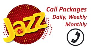 Mobilink Jazz Call Packages Daily, Weekly, Monthly