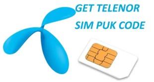 Telenor SIM PUK Code Unlock