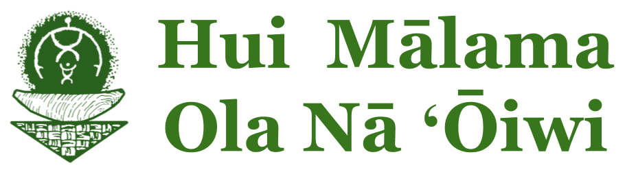 Hui Mālama Ola Nā ʻŌiwi Logo