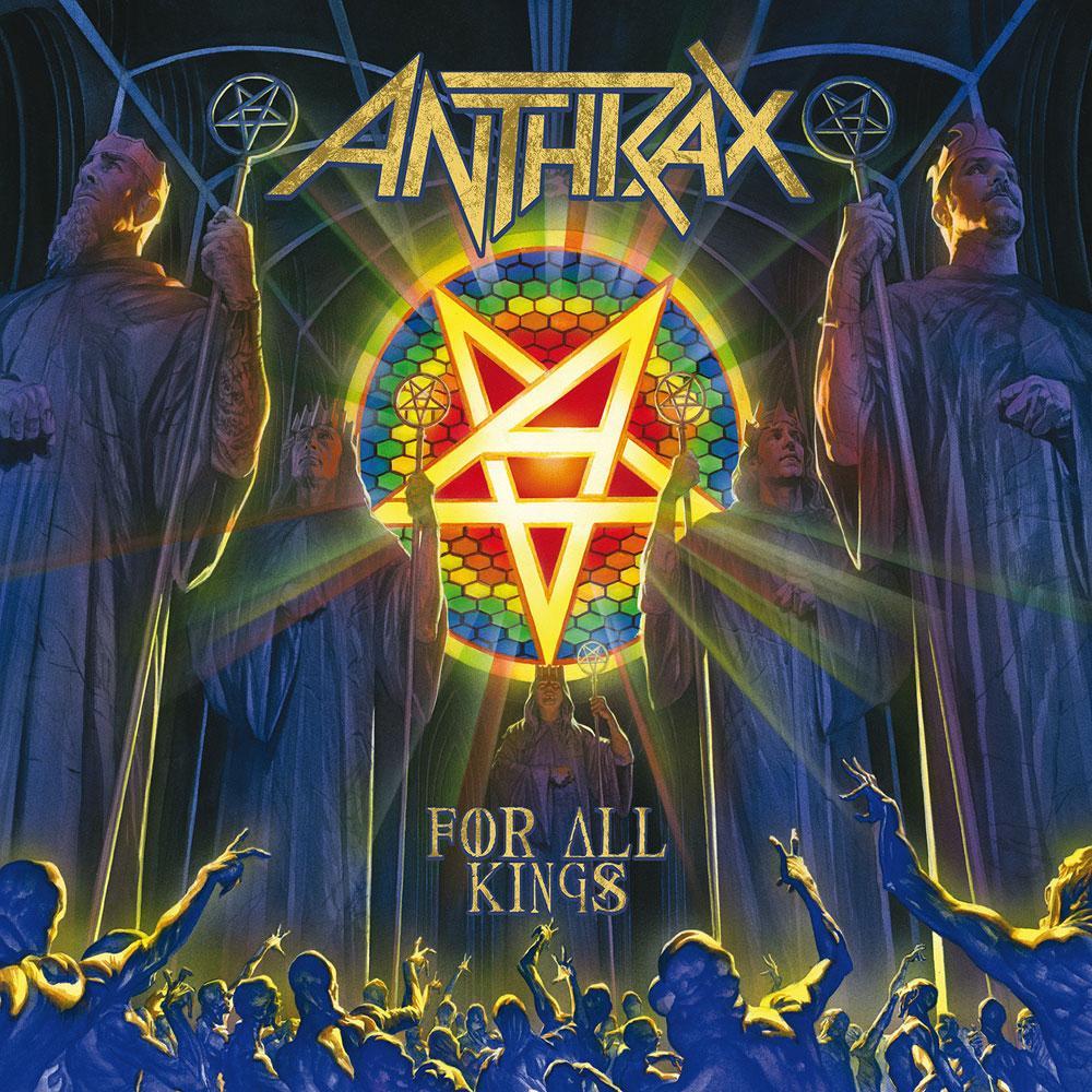 Resultado de imagem para ANTHRAX ÁLBUM DE 2016