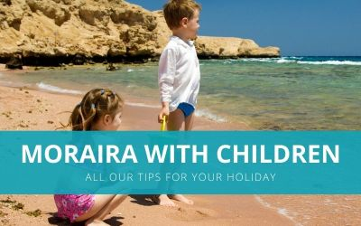 Moraira with children