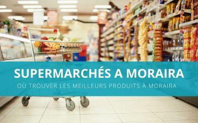 Supermarchés à Moraira