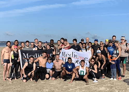 Medicine in Motion at the Buzzard's Bay Triathlon in Sept. 2019