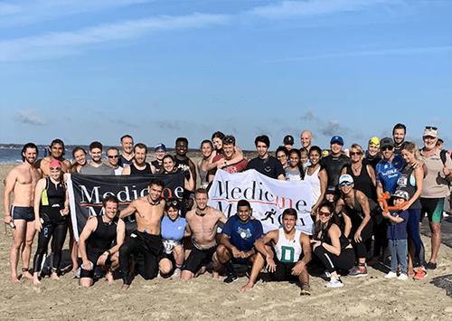 Medicine in Motion at the Buzzard's Bay Triathlon in Sept. 2019