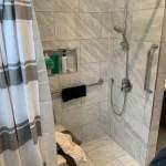 Zero Threshold Walk-in Shower with Bidet System 2