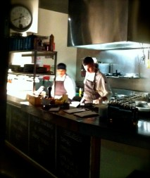 Chefs hard at work