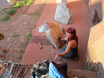 Laura Marcos, Fossils installation