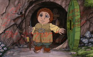 The 1977 Hobbit cartoon is an abomination.