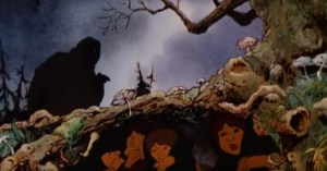 A Ringwraith in Ralph Bakshi's cartoon.