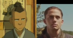 Sokka compared with his inferior counterpart from the movie.
