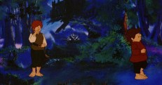 Stanley the Troll exits stage-right in Ralph Bakshi's The Lord of the Rings.