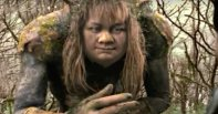 A poorly-animated troll in the terrible film Bridge to Terabithia.