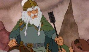 The Rankin/Bass cartoon's design for Théoden of Rohan.