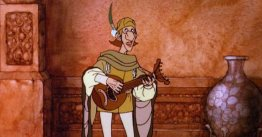 The Minstrel of Gondor in the cartoon.