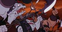 An army of cartoon orcs.