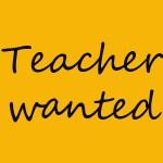 MIZO TEACHER WANTED