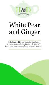 White pear and Ginger