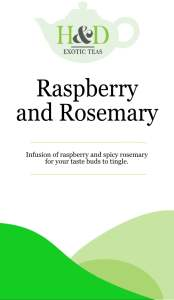Raspberry and Rosemary