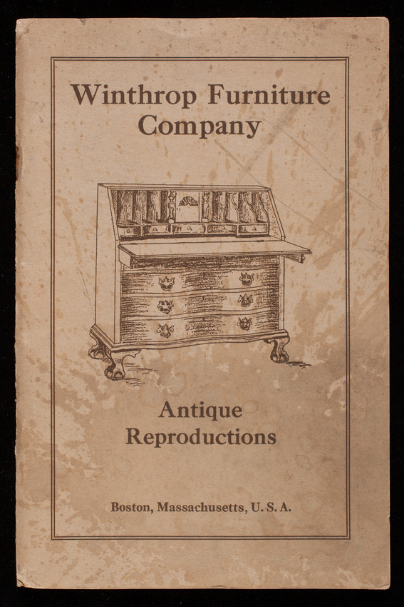 Antique Reproductions Winthrop Furniture Company 424